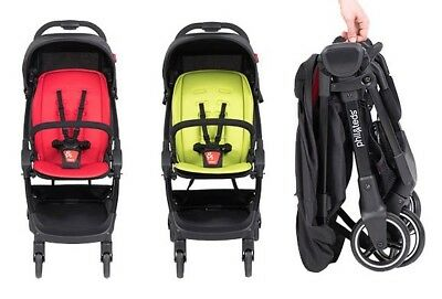 2018 Phil & Teds GO Stroller with Bar and Seat Liner compact - ONLY 11LBS - NEW