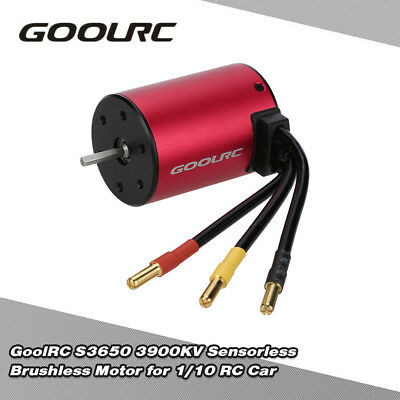 GoolRC S3650 3900KV Sensorless Brushless Motor für 1/10 RC Car L0Q4