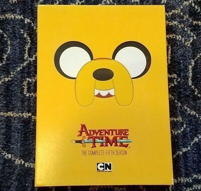 Adventure Time: The Complete Fifth Season (DVD, 2015, 4-Disc Set)