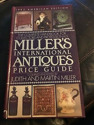 1985 Millers International Antiques Price Guide. (HC)