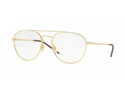 optische Brille Gestell Ray Ban RX6414 Gold Metall 2500