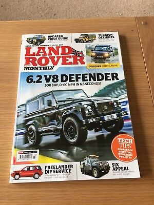 Land Rover Monthly Magazine LRM March 2015 No 201