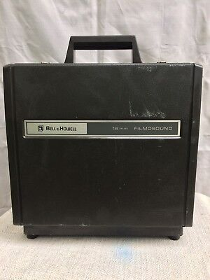 Vintage Bell & Howell 1574 16mm Film Projector Filmosound Film Sound