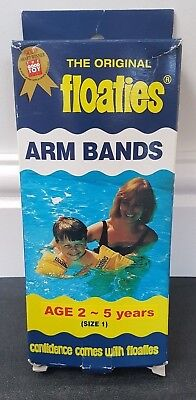The Original Floaties Arm Bands Size 1 Age 2-5 Years New In Box