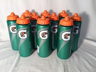 NEW Gatorade 20 oz. Squeeze Water Bottle Pack (Lot of 10)