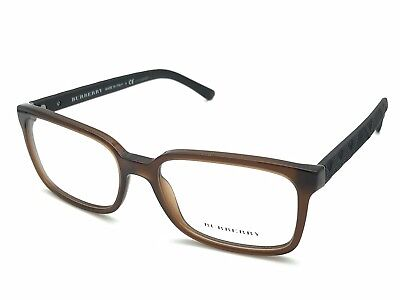 4d3390a5d24 Burberry B 2175 3500 Clear Brown Black Eyeglasses Frames 55-17 140 Italy