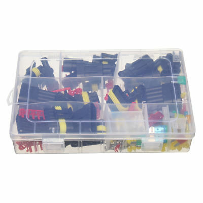 1-6 Pin Way Auto Barca Antipolvere Elettrici Connettori Impermeabili Tappi Set