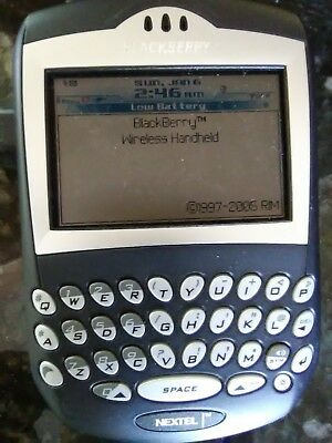Vintage Blackberry 7520 cell phone
