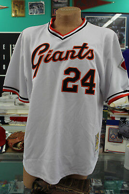 fc06e7958 Willie Mays Mitchell & Ness New York Giants Jersey Cooperstown Collection  Sz 52