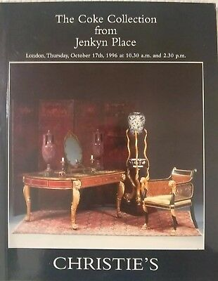 CHRISTIE'S Catalog 5679 London The Coke Collection from Jenkyn Place