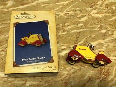 2004 Hallmark Keepsake Ornament Diecast 1935 Timmy Racer Kiddie Car IOB #11