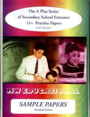 Sample Papers: Secondary School Entrance - 11+ Practice Papers: Standard...