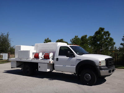 Ford F450 4X4 Manual Lawn Irrigation Pesticide Spray Water FL Truck 1 Owner PTO