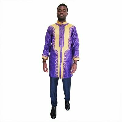Beautifully made African Embroidery Men's Set, Size 3XL