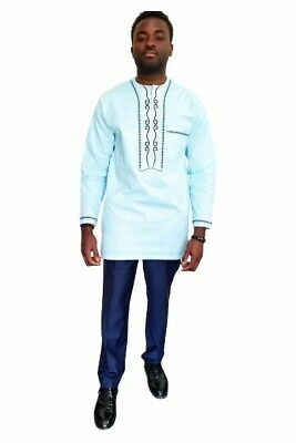 Beautifully made African Embroidery Men's Set, Size L