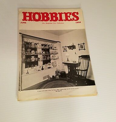 Hobbies the Magazine for Collectors June 1950  General Collection Advertising