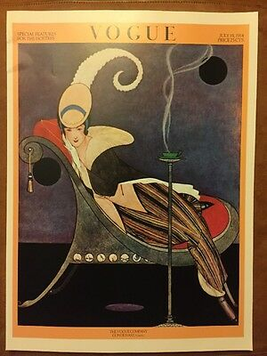 1924 Authorised 1970/'s Reprint 39x28cm15 Vintage Vogue Magazine Poster Sep 1st