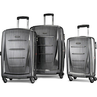 Samsonite Winfield 2 Fashion Hardside 3 Piece Spinner Set - Charcoal (56847-1174