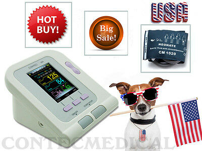 CONTEC08A automatic Digital Veterinary Blood Pressure monitor,Vet cuff,US seller