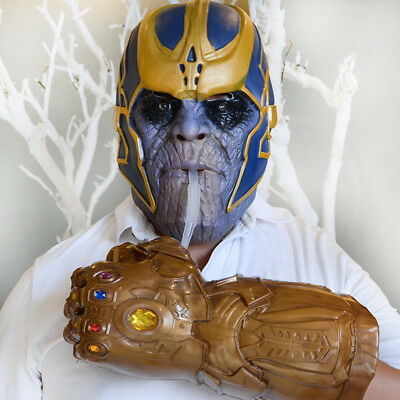 Marvel's The Avengers Marvel Legends Thanos Gloves Infinity Gauntlet Cup Cosplay