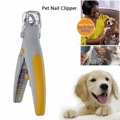 Pet Nail Trimmer Peti Care illuminated Dog Nail Clippers Grinders for Cats Dogs