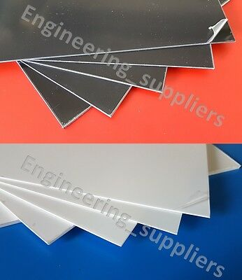 High Impact Polystyrene Plasticard Selection Pack 5, 1 to 3mm, A5, A4, A3