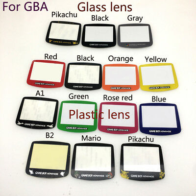 Glass &Plastic Screen Lens For Gameboy Advance For Game boy Advance GBA AGS-001