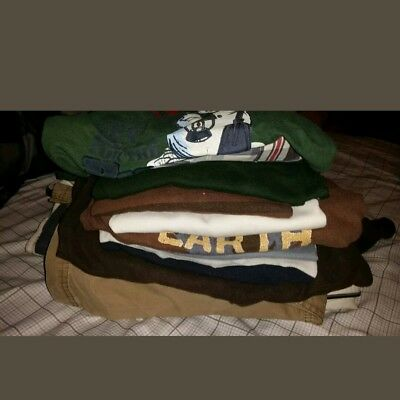 Boys Size 7 & 7x Fall/Winter Clothing Lot of 17 Pieces