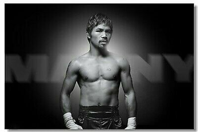 Poster Manny Pacquiao Pac Man The Destroyer Room Wall Cloth Print 515