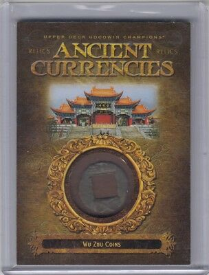 2017 upper deck Goodwin Champions Ancient currencies Wu Zhu Coins CR-15 4J