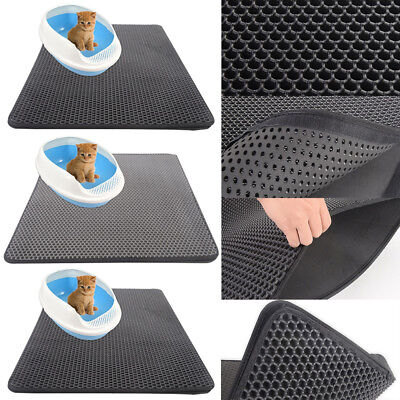 Cat Litter Easy Clean Pet Supplies Double Layer Waterproof Trapping Mat Pad