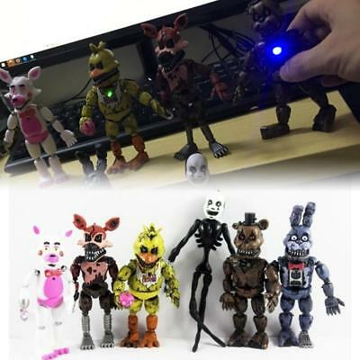 NEW At Freddy's Five Nights PVC Action Figure Kids Toys Bear Doll Gift FNAF Game