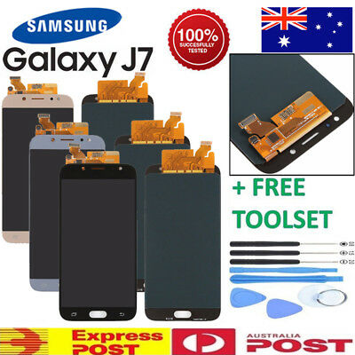 For Samsung Galaxy J7 Pro J730G/GM LCD Touch Screen Digitizer Assembly + Tool AU