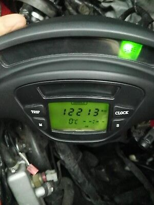 Piaggio X9 Tacho Kombiinstrument LCD Bordcomputer Display Tachometer 125 250 500