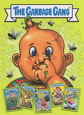 Topps The Garbage Gang/garbage Pail Kids Trading Cards Complete 96 Card Set 2018