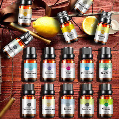 Essential Oil 100% Pure & Natural Aromatherapy Diffuser Essential Oils UK Aroma