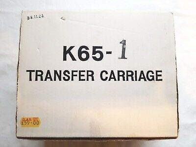 Rare Toyota Knitting Machine Parts Tools Ks901 Ks858 K65-1 K65 Transfer Carriage