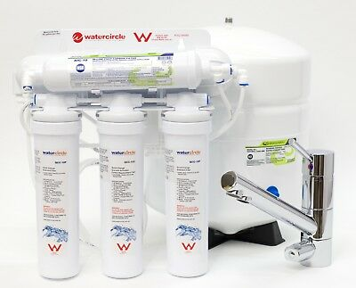 Watermark Complete Set Reverse Osmosis water filter fluoride RO system 3 way tap
