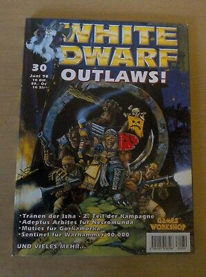 White Dwarf Juni 1998 Games Workshop Warhammer 40k Age of Sigmar