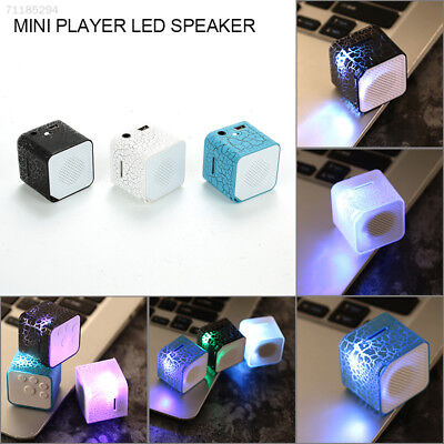 LED Portable Mini Speaker Music Stereo Super Bass Support Micro SD/TF Card