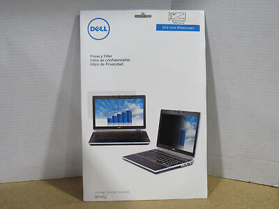 Brand New Genuine Dell Privacy Filter 14 inch Widescreen LCD Protector