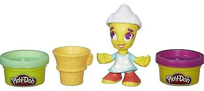 Play-Doh Town Ice Cream Figure with 2 Minis - Free Ship