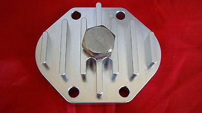 Bsa B Group Billet Finned Sump Plate With Magnetic Drain Bolt