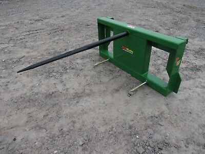 John Deere Tractor Loader Attachment - Low Back Round Hay Bale Spear - Ship $149