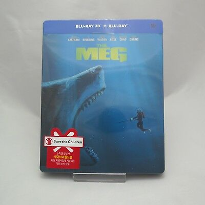 The Meg - Blu-ray Steelbook 2D & 3D Combo (2018) / Korean Edition