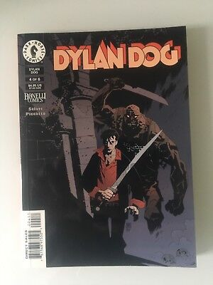 """Dylan Dog graphic novel """"The Return of the Monster"""" 4 of 6 - Good condition."""