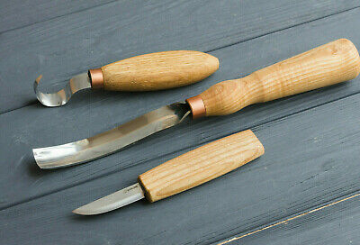 SPOON CARVING TOOLS Set NEW Woodcarving Tools Bowl Kuksa