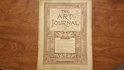 The Art Journal Magazine July 1887 Antique Magazine Engravings Sketches, ETC