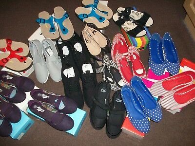 20 Pairs Of Ladies Shoes Job Lot Whole Sale.NEW.
