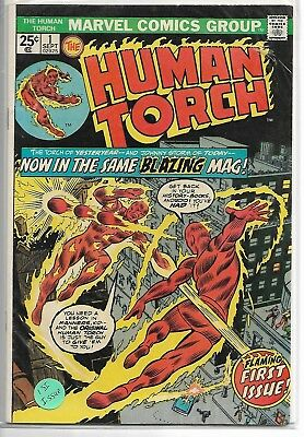 VINTAGE MARVEL COIMICS #1 (.25 cent) **HUMAN TORCH** 1st. Issue